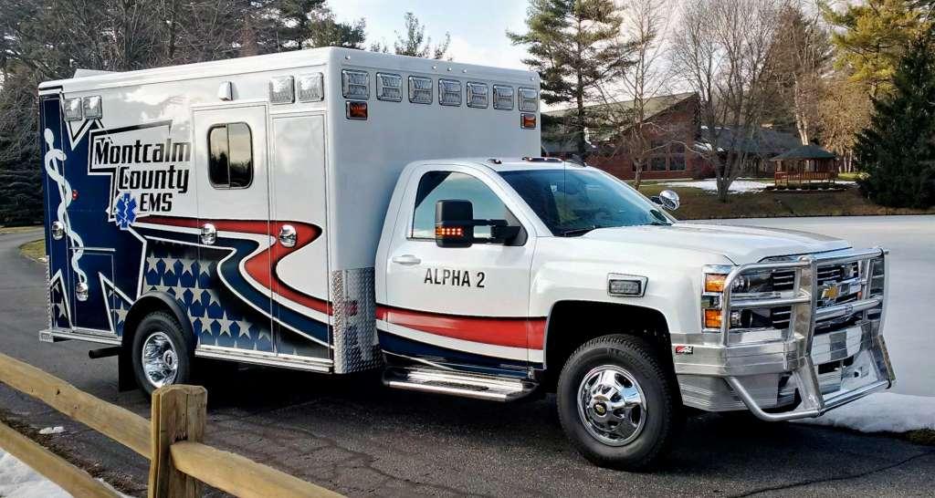 Montcalm County Ems Emergency Vehicles Plus
